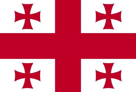 格鲁吉亚国旗