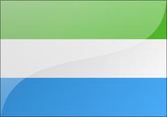 塞拉利昂国旗